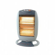 Low Watt Large Oscillating Halogen Heater
